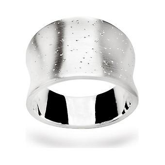 Bastian Inverun 925/- ring, rodiumpläterad med diamantarbete 20691-54