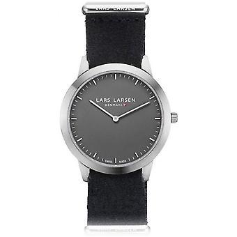 LLarsen (Lars Larsen Black Nylon) 135SGBZ Men's Watch