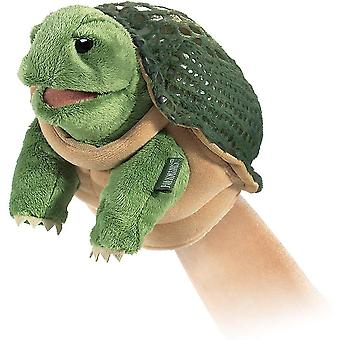 Puppets marionettes little turtle hand puppet