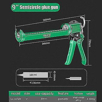 Glue guns laoa professional glass cement gun sealing glue guns sealant tool la142109
