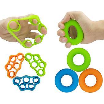 Entraîneur de main pour soulager la douleur de poignet et de pouce avec des anneaux