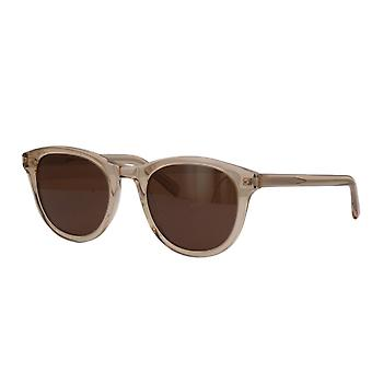 Saint Laurent SL 401 004 Yellow/Brown Sunglasses