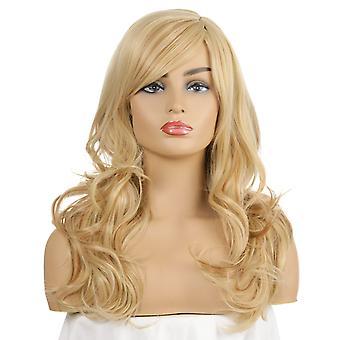 Brand Mall Wigs, Encaje Wigs, Realista Cabello Largo Rizado