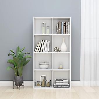 Chunhelife Book Cabinet /sideboard High Gloss White 66x30x130 Cm Aggloméré