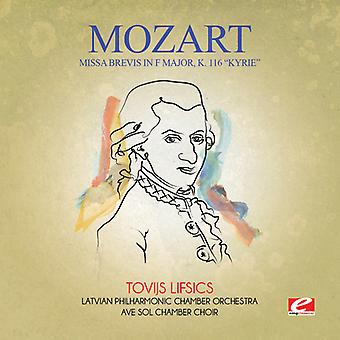 Mozart - Missa Brevis in F grote K. 116 Kyrie USA import