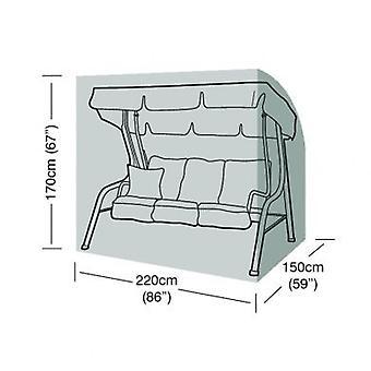 3 locuri Swing Seat capac rezistent la apa polietilena verde