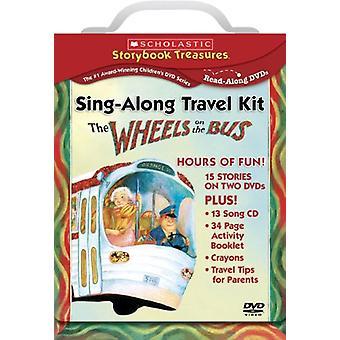 Importación de ruedas a los Estados Unidos de Bus-Sing-Along Kit de viaje [DVD]