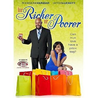 For Richer or Poorer [DVD] USA import
