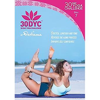 30Dyc: 30 Day Yoga Challenge with Dashama Disc 7 [DVD] USA import