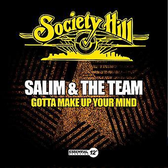 サリム ・ チーム - 得た決断する [CD] アメリカ インポートします。