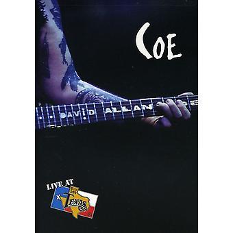 Coe, David Allan - Live at Billy Bob's Texas [DVD] USA import