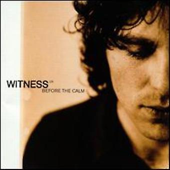 Witness U.K. - Before the Calm [CD] USA import