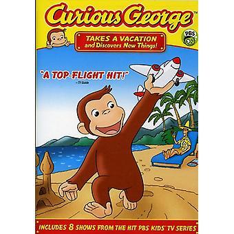 Curious George - Curious George: prend des vacances et Découvre de nouvelles choses! Importation de [DVD] é.-u.