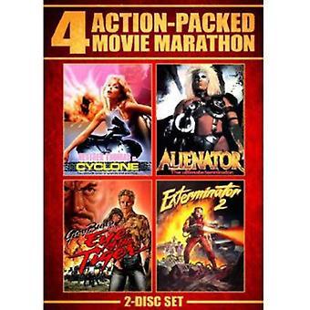 Importer des action Packed Movie Marathon [DVD] é.-u.