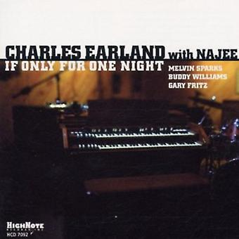 Charles Earland - If Only for One Night [CD] USA import