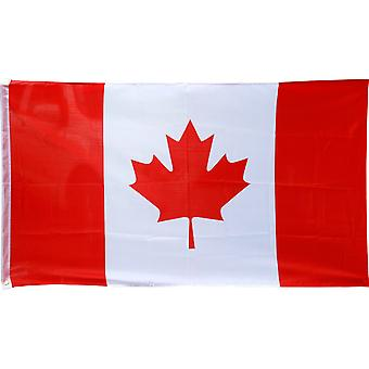 TRIXES Large Canadian 5ft x 3ft 2016 Rio Olympic Games Flag