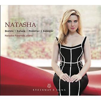 Balakirev / Paremski - Natasha [CD] USA import