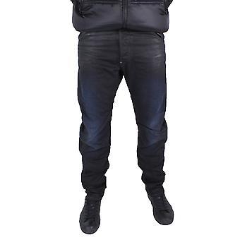G-Star Arc Zip 3D Loose Tapered Dark Aged Effer Denim Jeans