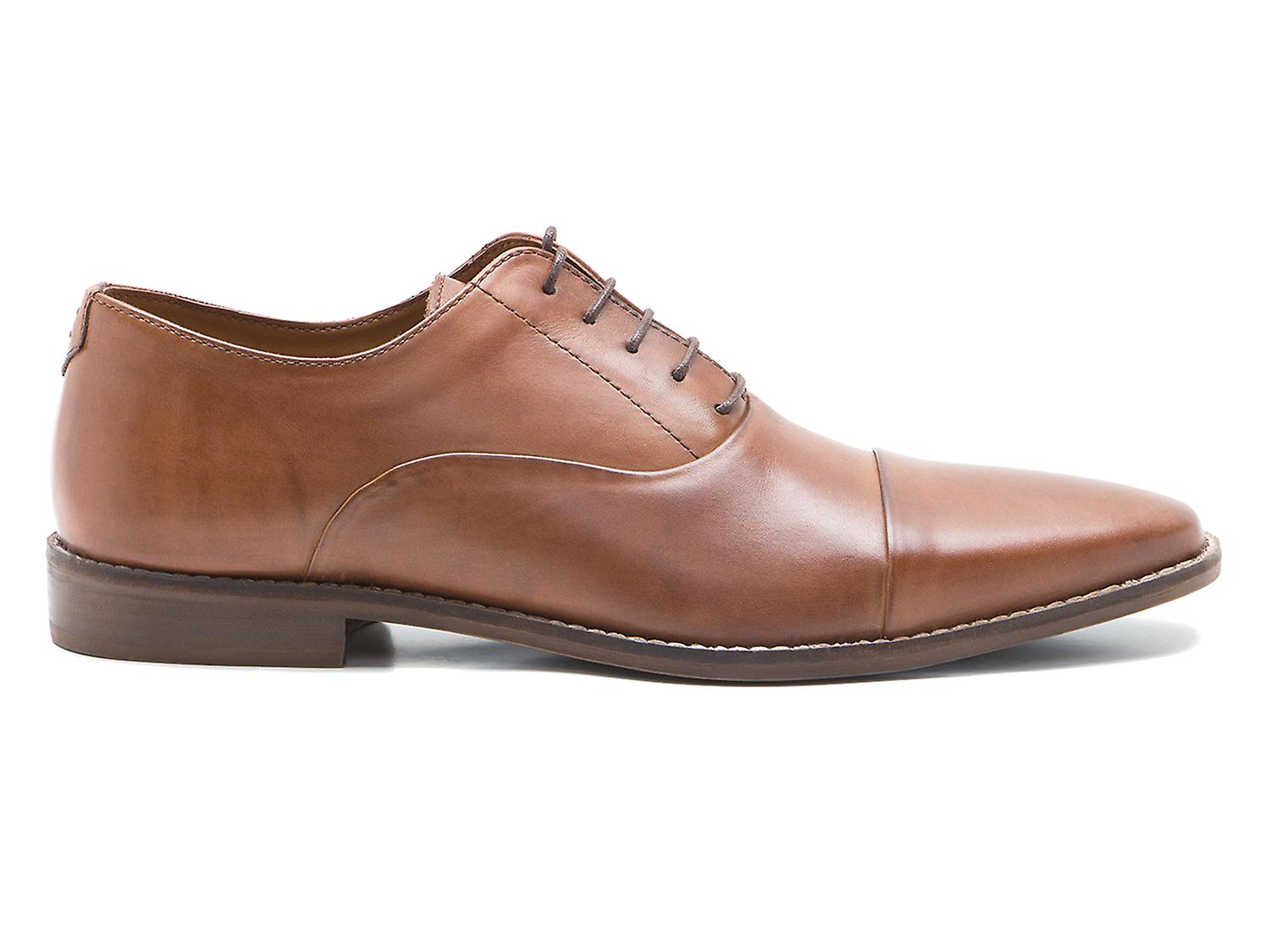 Red Tape Stanton Tan Men's Leather Lace-Up Formal Shoes