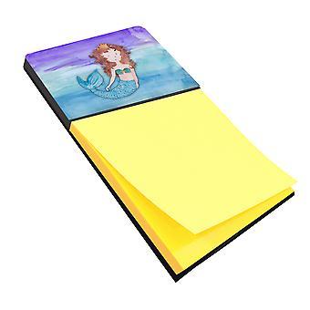 كارولين BB7422SN الكنوز حورية البحر سمراء الألوان المائية Sticky Note حامل