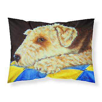 Quilt tessuto Standard federa di Airedale Terrier Momma