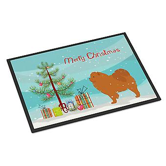Chow Chow Merry Christmas Tree Indoor or Outdoor Mat 24x36