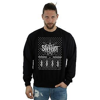 Point 9 Noël Sweatshirt Slipknot masculine