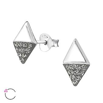 Marquise Crystal From Swarovski® - 925 Sterling Silver Ear Studs - W32761x