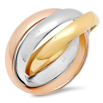 Ladies Intertwined Ring
