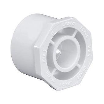 "Dura 437-337 3"" x 1.5"" SCH40 PVC Reducing Bushing 437337"
