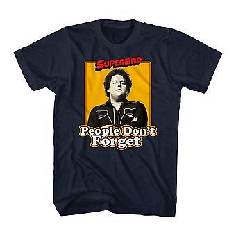 Super Bad Never Forget Men's Black T-shirt