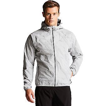 2b Mens tør Illume II vannavstøtende hettekledde Full Zip pels jakke