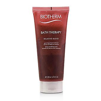 Biotherm Bath Therapy Relaxing Blend Body Smoothing Scrub - 200ml/6.76oz