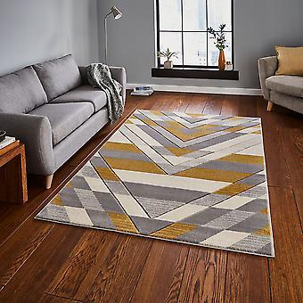 Pemboke G2075 Beige gelbes Rechteck Teppiche moderne Teppiche