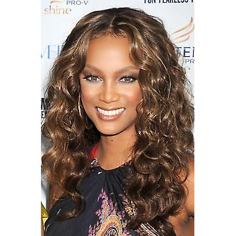 Tyra Banks At Arrivals For CosmopolitanS Fun Fearless Phenom Awards Hearst Tower New York Ny September 15 2008 Photo By Kristin CallahanEverett Collection Celebrity