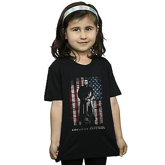 Johnny Cash Girls American Original T-Shirt