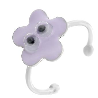 Orphelia srebro 925 dzieci pierścień Lila Flower ZR-7