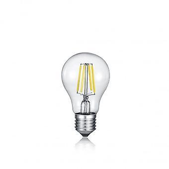 Trio de iluminação com fonte de luz lâmpada moderno vidro transparente