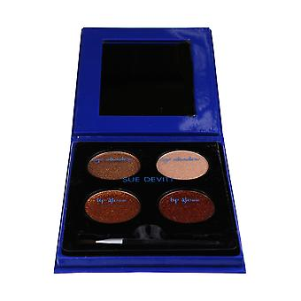 Sue Devitt Nice Eyeshadow And Lipgloss Palette New In Box