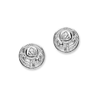 Sterling Silver Scottish Design Charles Rennie Mackintosh design Pair of Earrings - E520