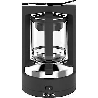 Krups KM468910 Coffee maker Black Cup volume=12 incl. pressure brew unit
