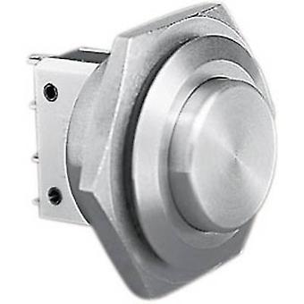 Bulgin MP0038/2 onvervalsbaar drukknop 250 V AC 5 A 1 x Off/(On) IP66 (voorzijde verzegeld) kortstondige 1 PC('s)