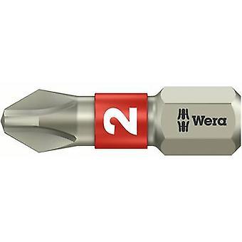 Wera 3851/1 TS PH 1 X 25 MM 05071010001 Philips bit PH 1 Acciaio inossidabile D 6,3 1 pc