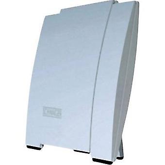 Antenna del tetto attivo di Schwaiger DTA 3000 DVB-T/T2 al chiuso, all'aperto amplificazione: 20 dB bianco