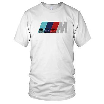 BMW M Power M3 M5 M6 automobile automobile Mens T Shirt
