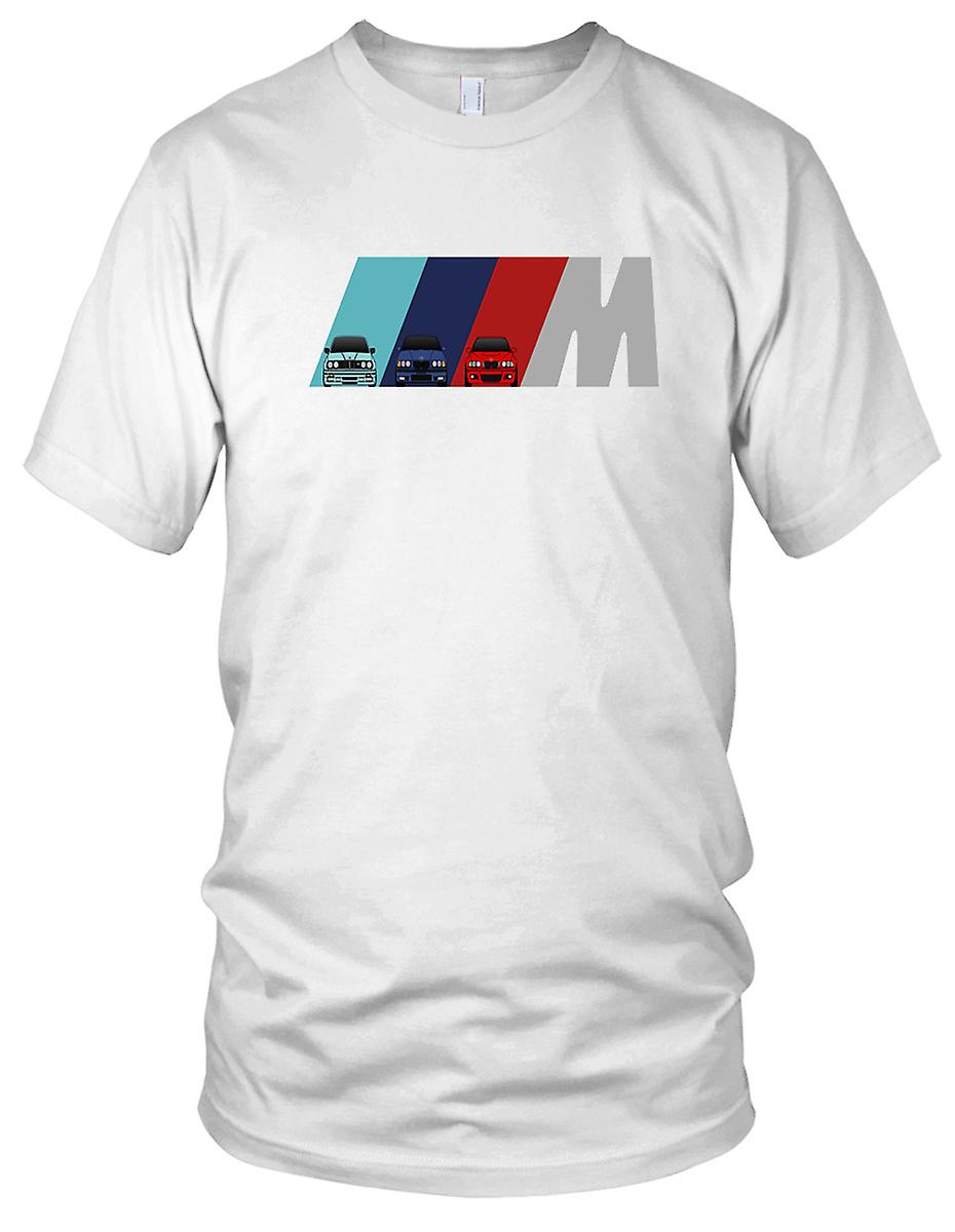 BMW M makt M3 M5 M6 Motorcar bilkjøring Kids T skjorte