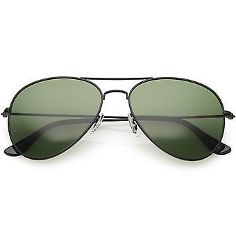 Classic spolaryzowane okulary przeciwsłoneczne Aviator metalowe dla kobiet, mężczyzn 57mm