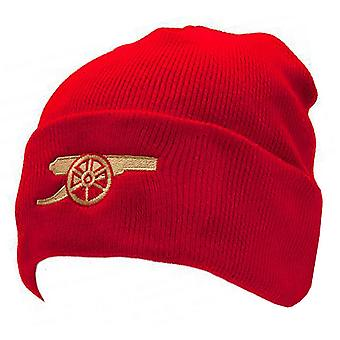 Arsenal FC Official Gunners Cuff Knitted Hat