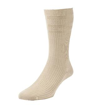 HJ191 Hall Men Softop Extra Wide bumbac bogat nu elastic sock