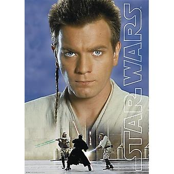 Tähtien sota: Episodi I juliste Obi Wan Kenobi